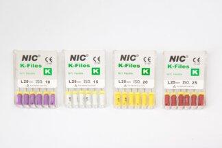 K-Flex NiTi file, 25 mm, 6 stk.